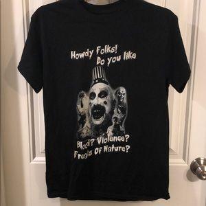 Rob zombie horror tee